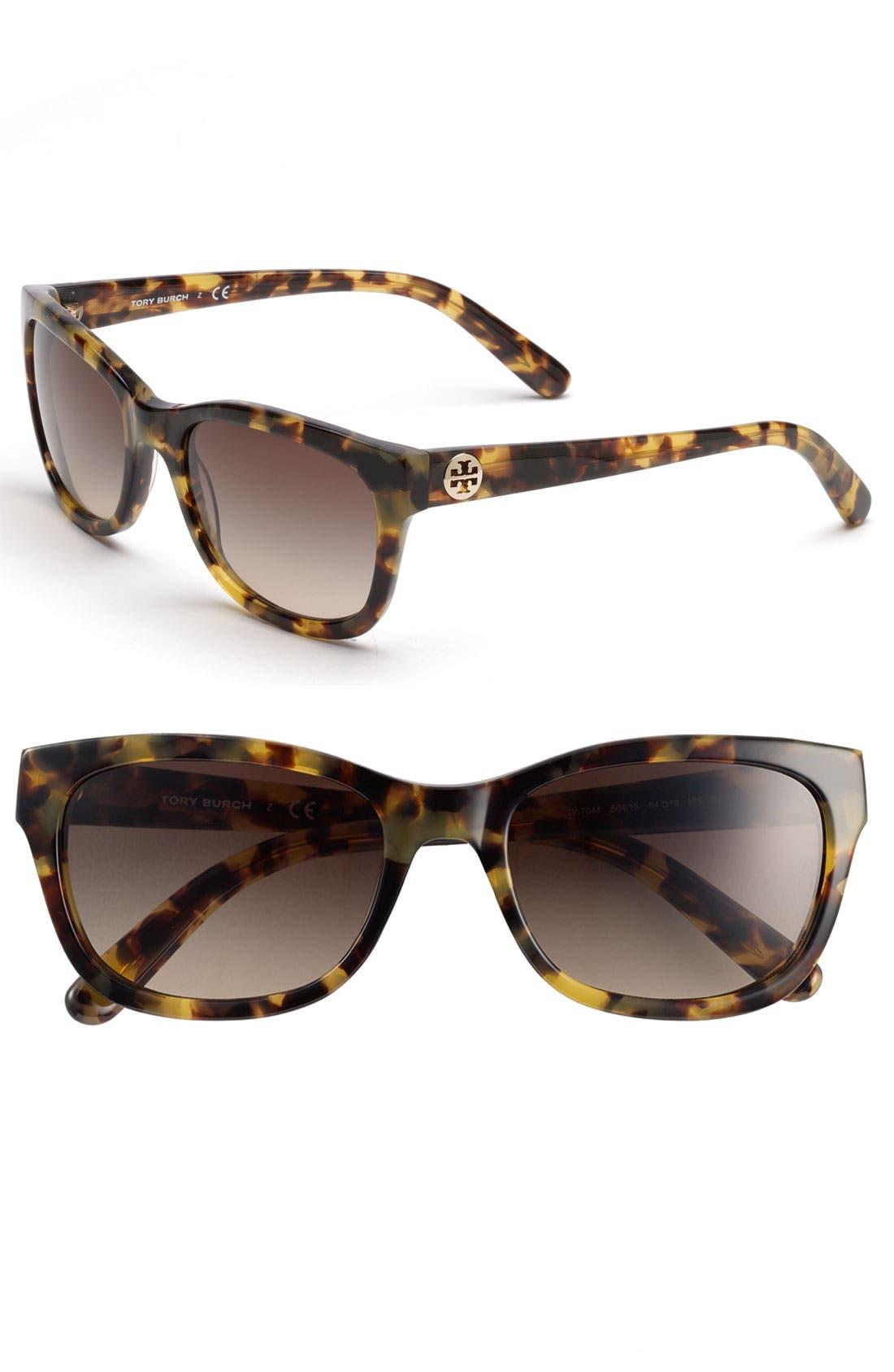 Alternate Image 1 Selected - Tory Burch 54mm Sunglasses