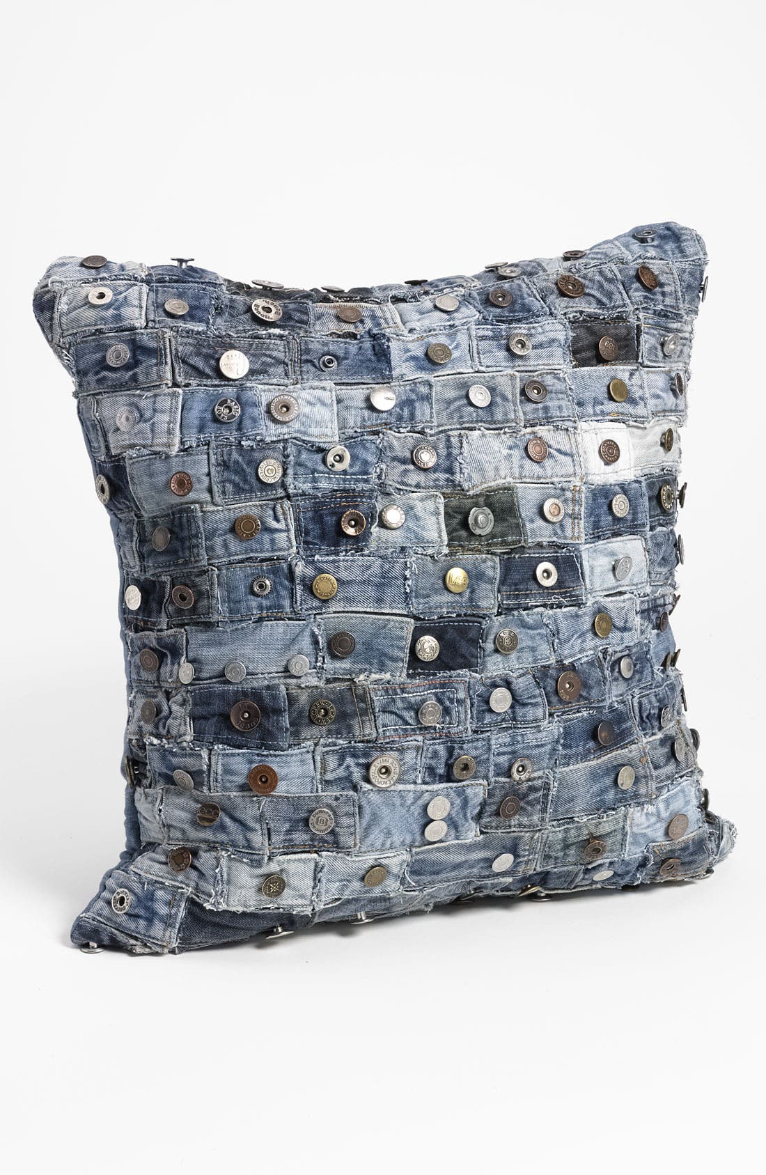 Alternate Image 1 Selected - Mina Victory Button Denim Pillow
