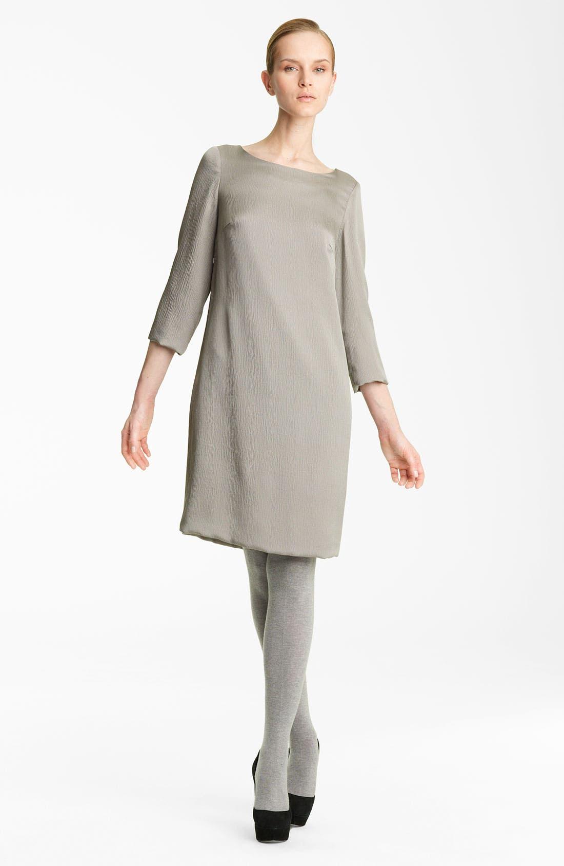 Alternate Image 1 Selected - Fabiana Filippi Hammered Silk Dress