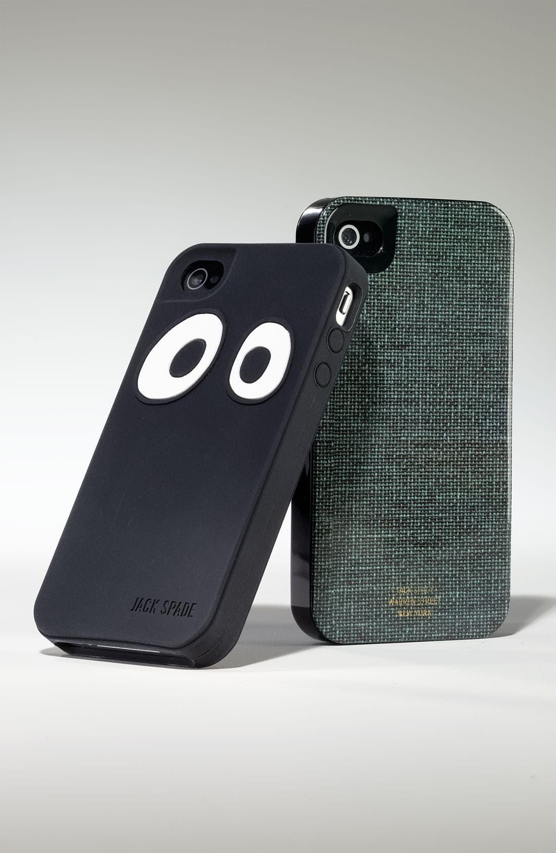 Alternate Image 2  - Jack Spade 'Eyes' iPhone 4 Case