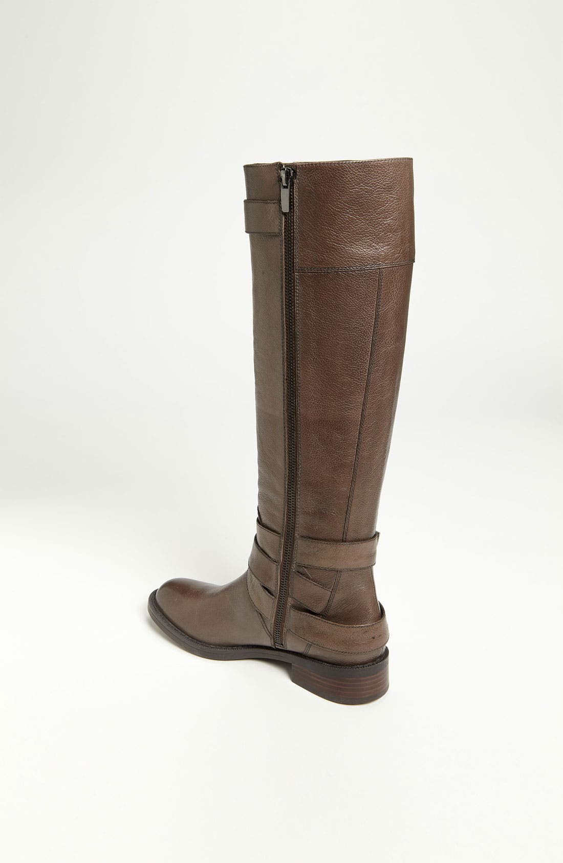 'Saylem' Riding Boot,                             Alternate thumbnail 2, color,                             Dark Grey Leather