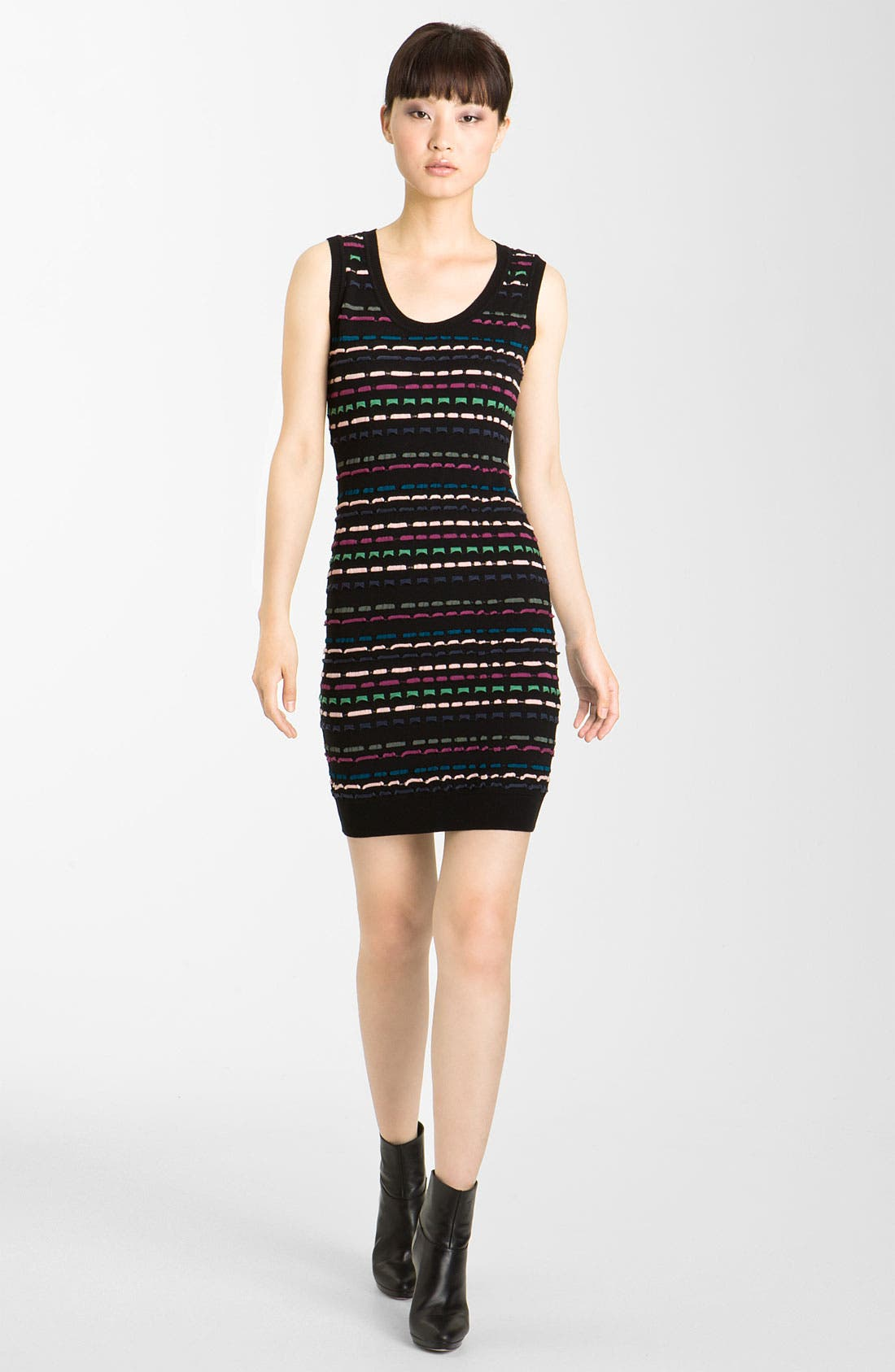 Main Image - M Missoni Ribbon Stitch Tank Dress