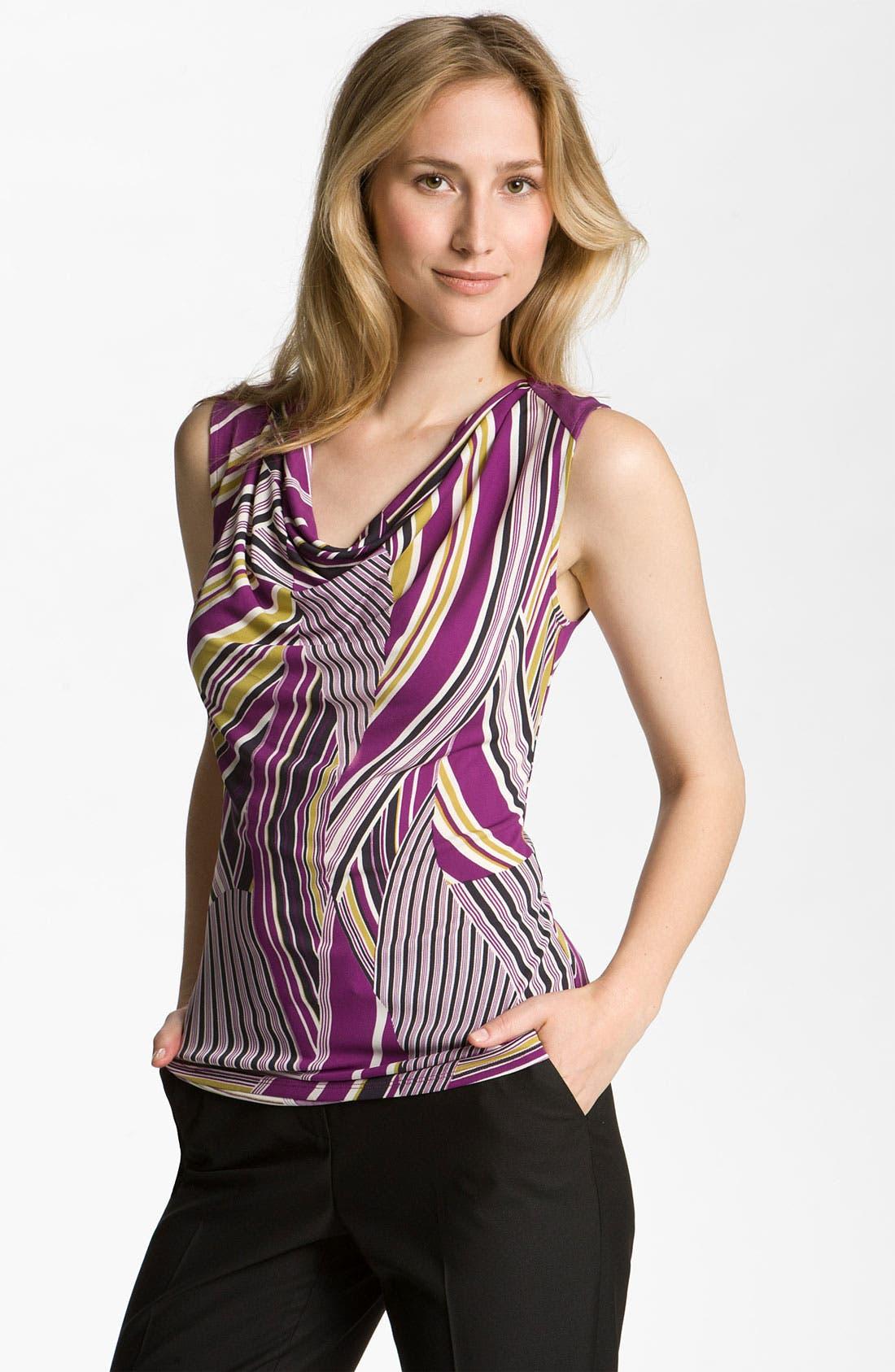 Alternate Image 1 Selected - Classiques Entier® 'Nouveau' Drape Neck Jersey Top