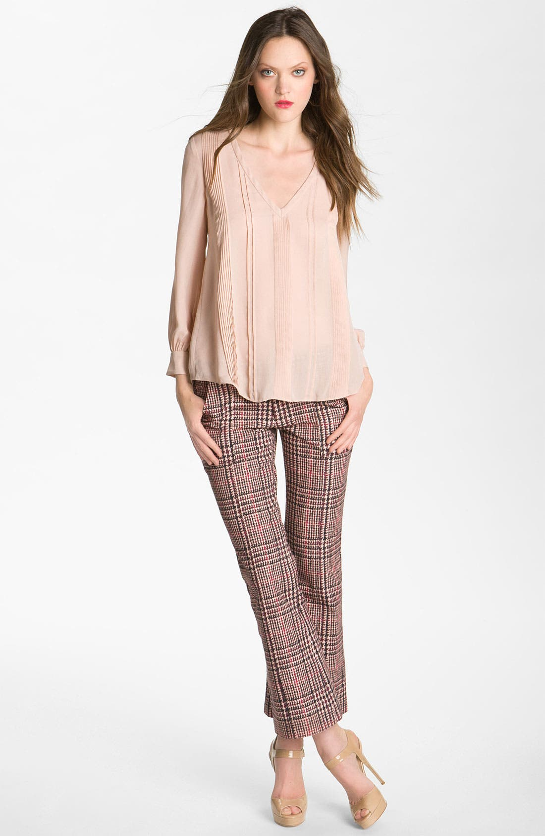 Alternate Image 4  - Derek Lam 10 Crosby Houndstooth Crop Pants