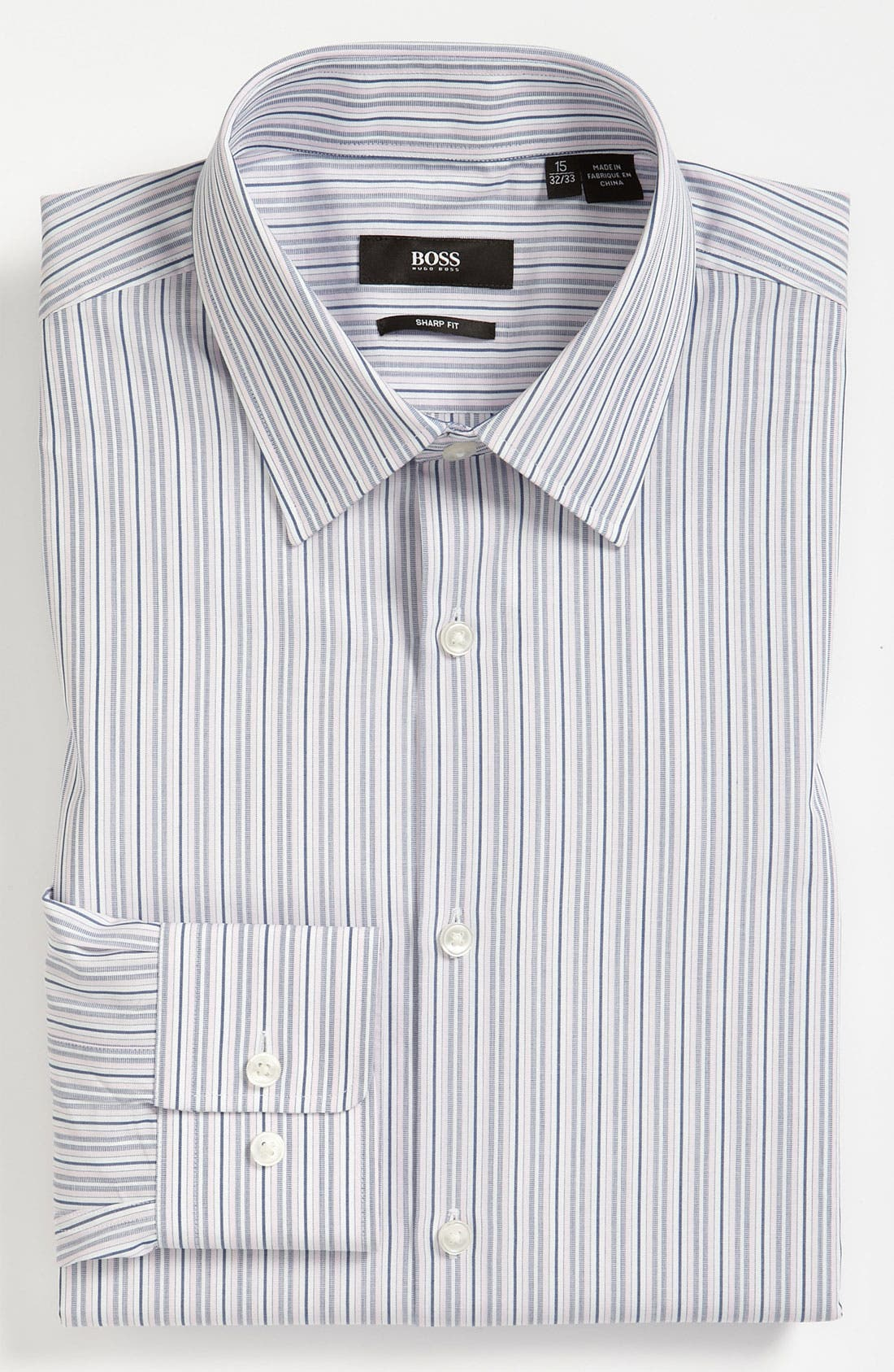 Alternate Image 1 Selected - BOSS Black Sharp Fit Dress Shirt