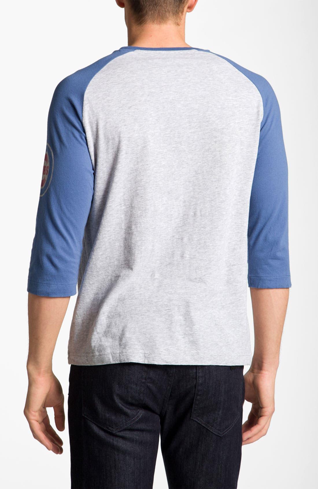 Alternate Image 2  - Wright & Ditson 'Chicago Cubs' Baseball T-Shirt