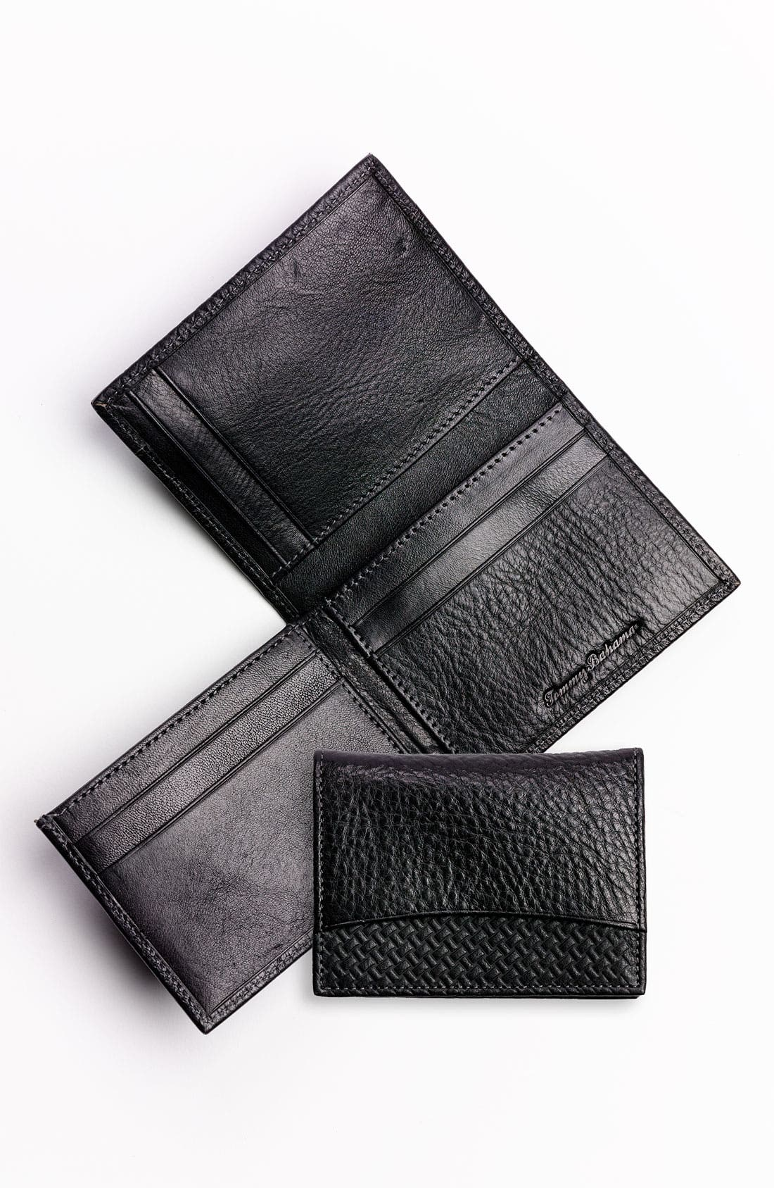 Alternate Image 1 Selected - Tommy Bahama 'Grayston' L-Fold Wallet