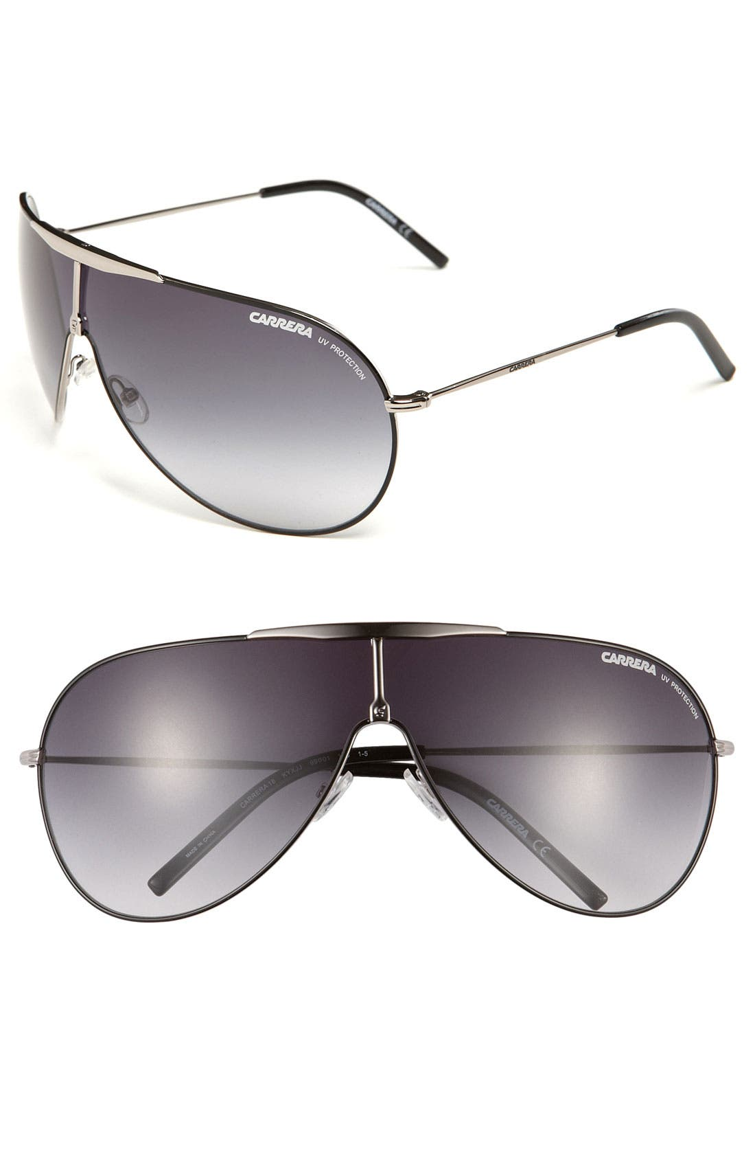 Alternate Image 1 Selected - Carrera Eyewear Shield Sunglasses