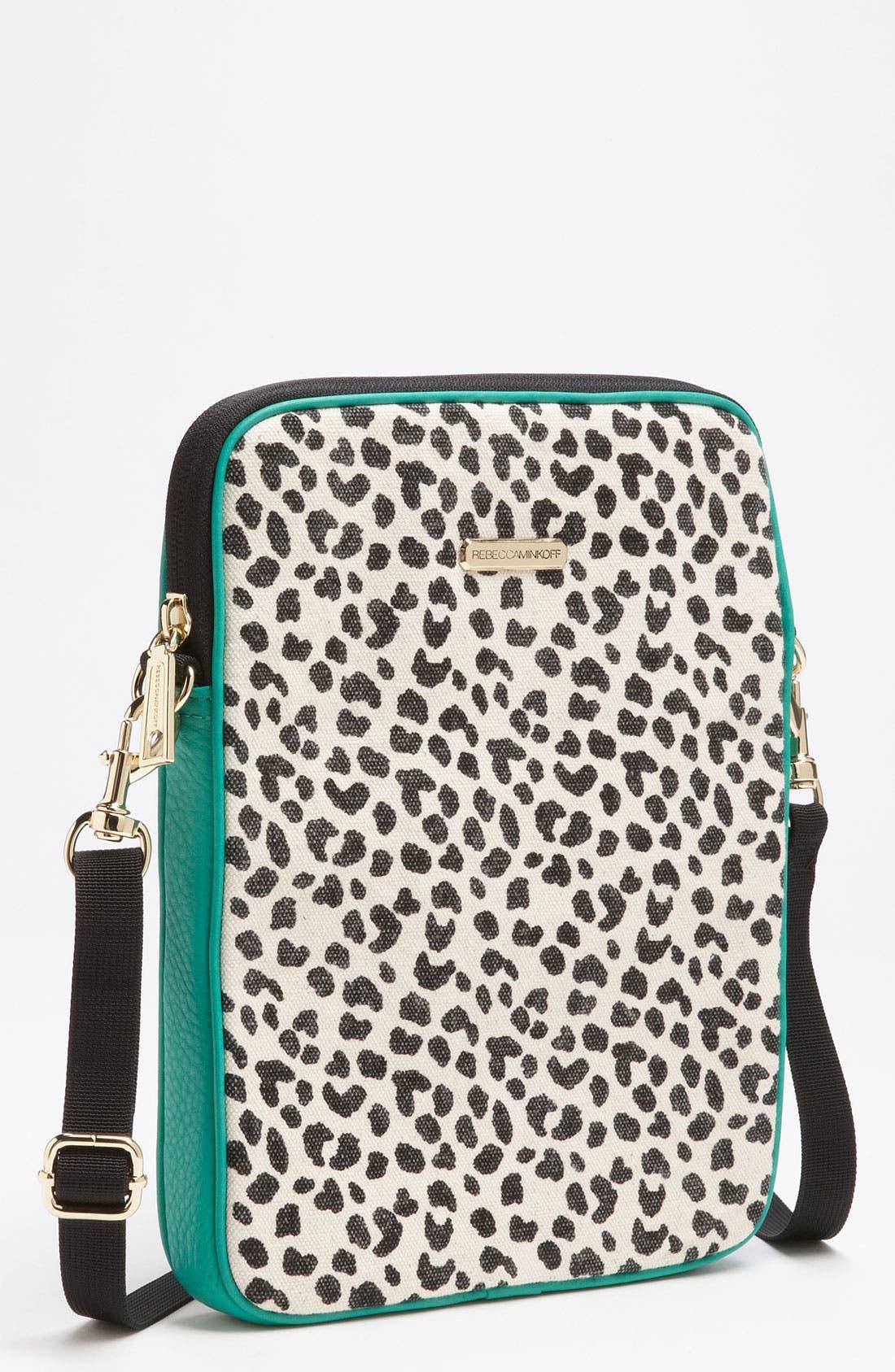 Main Image - Rebecca Minkoff Leopard Print iPad Case