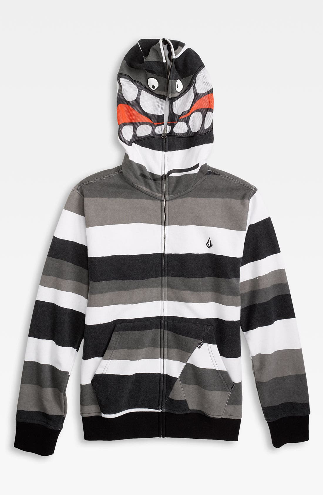 Main Image - Volcom 'Magmouf' Full Zip Hoodie (Big Boys)