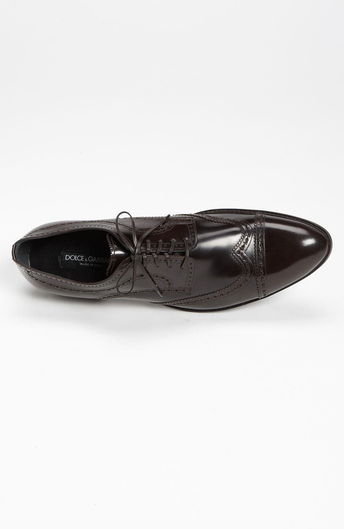 Alternate Image 3  - Dolce&Gabbana Cap Toe Wingtip