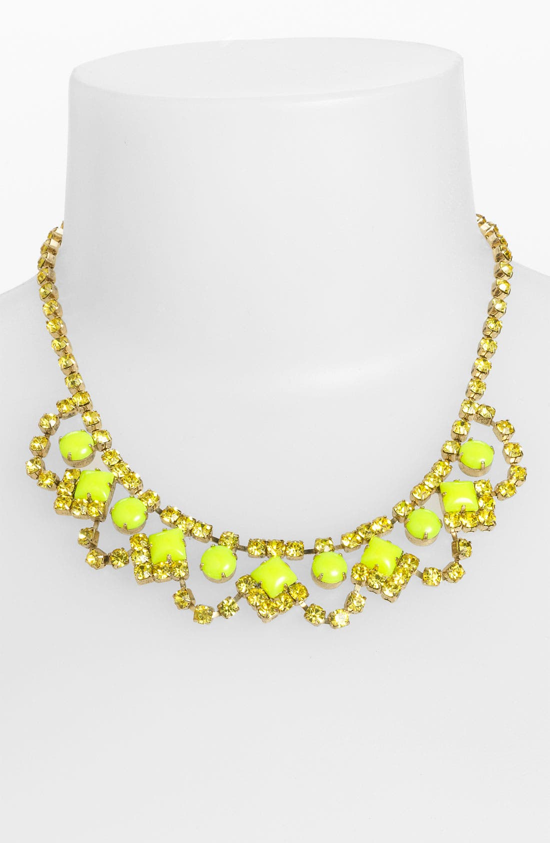 Alternate Image 1 Selected - Sweet Scandal 'Lulu' Crystal Necklace