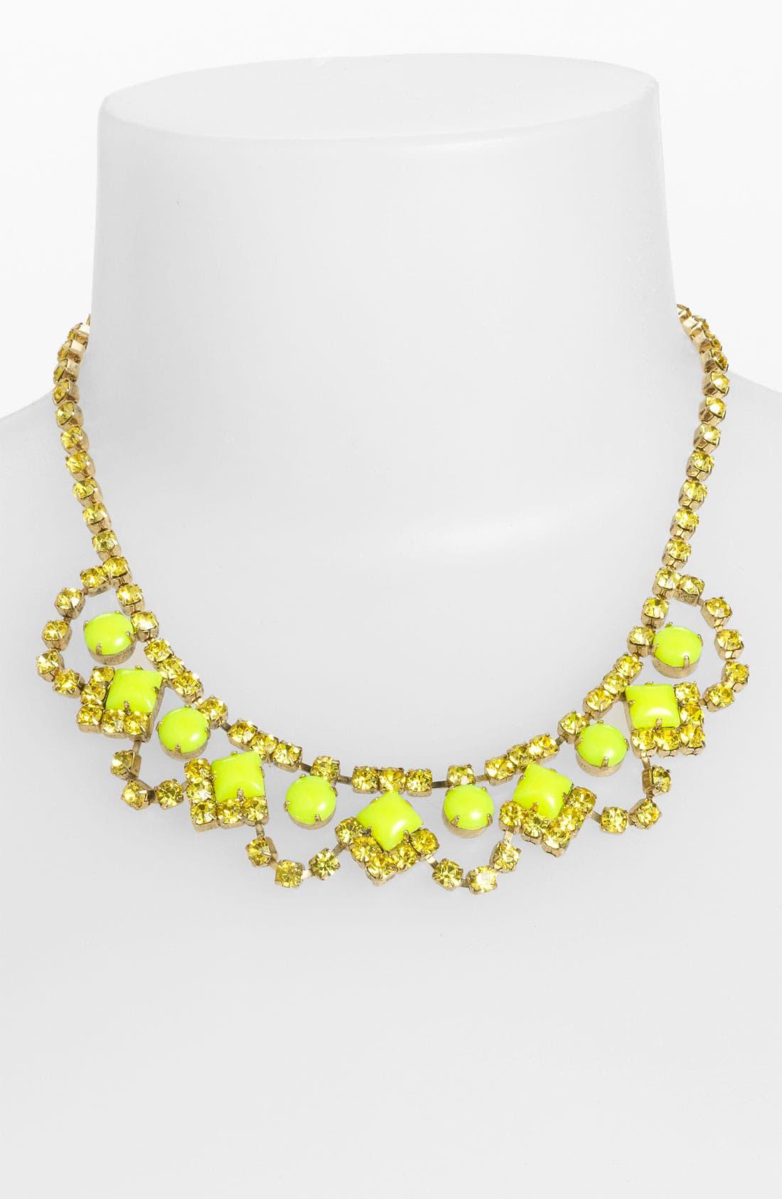 Main Image - Sweet Scandal 'Lulu' Crystal Necklace