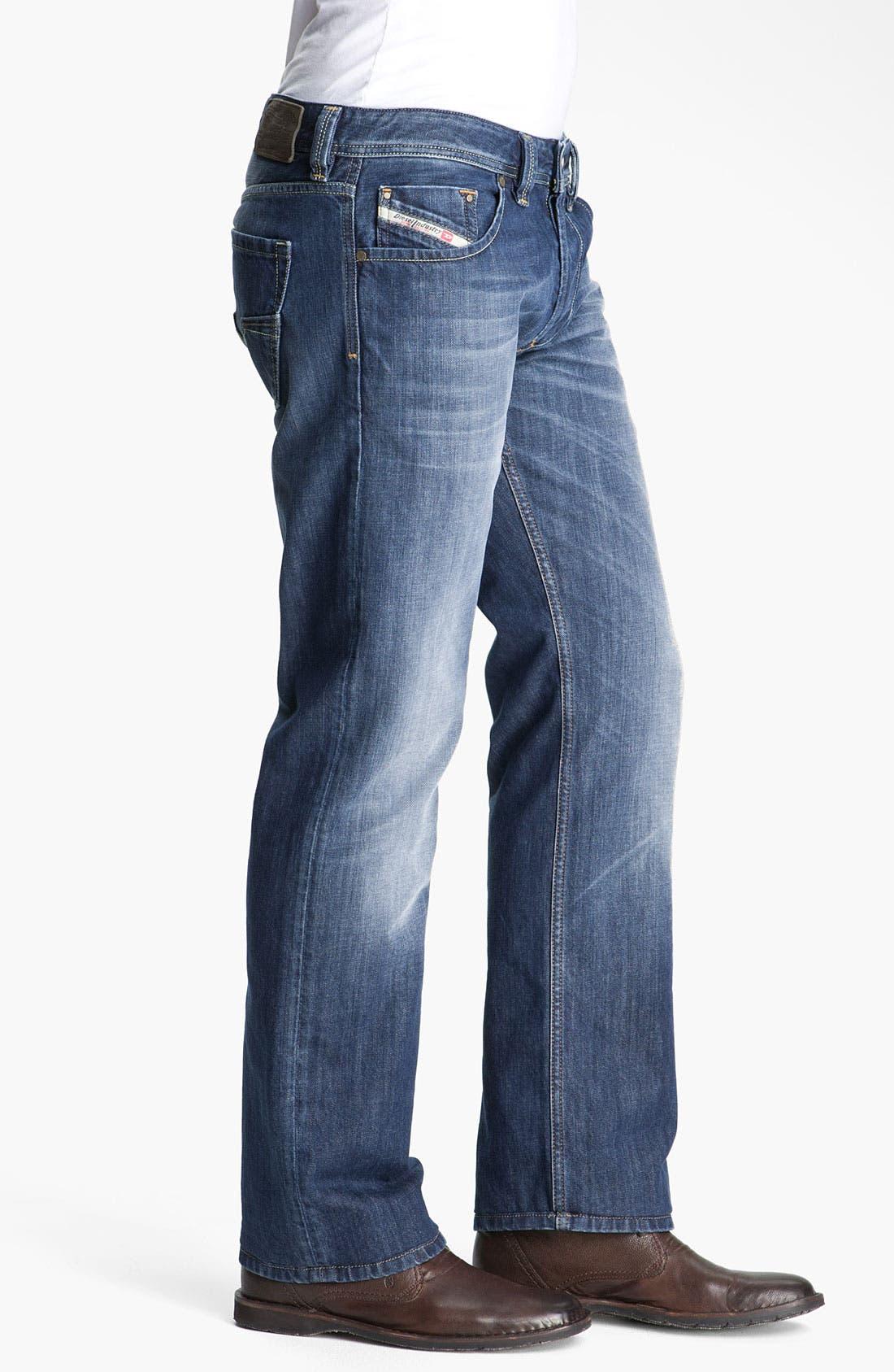 Alternate Image 3  - DIESEL® 'Larkee' Straight Leg Jeans (801Z)