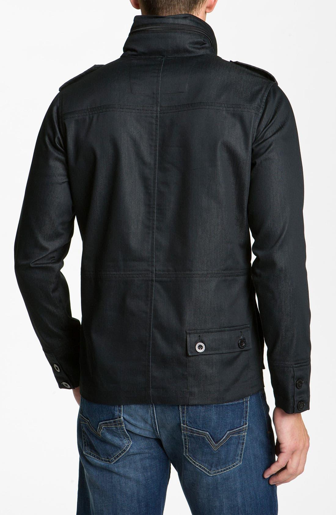 Alternate Image 2  - Kane & Unke Trim Fit Military Jacket