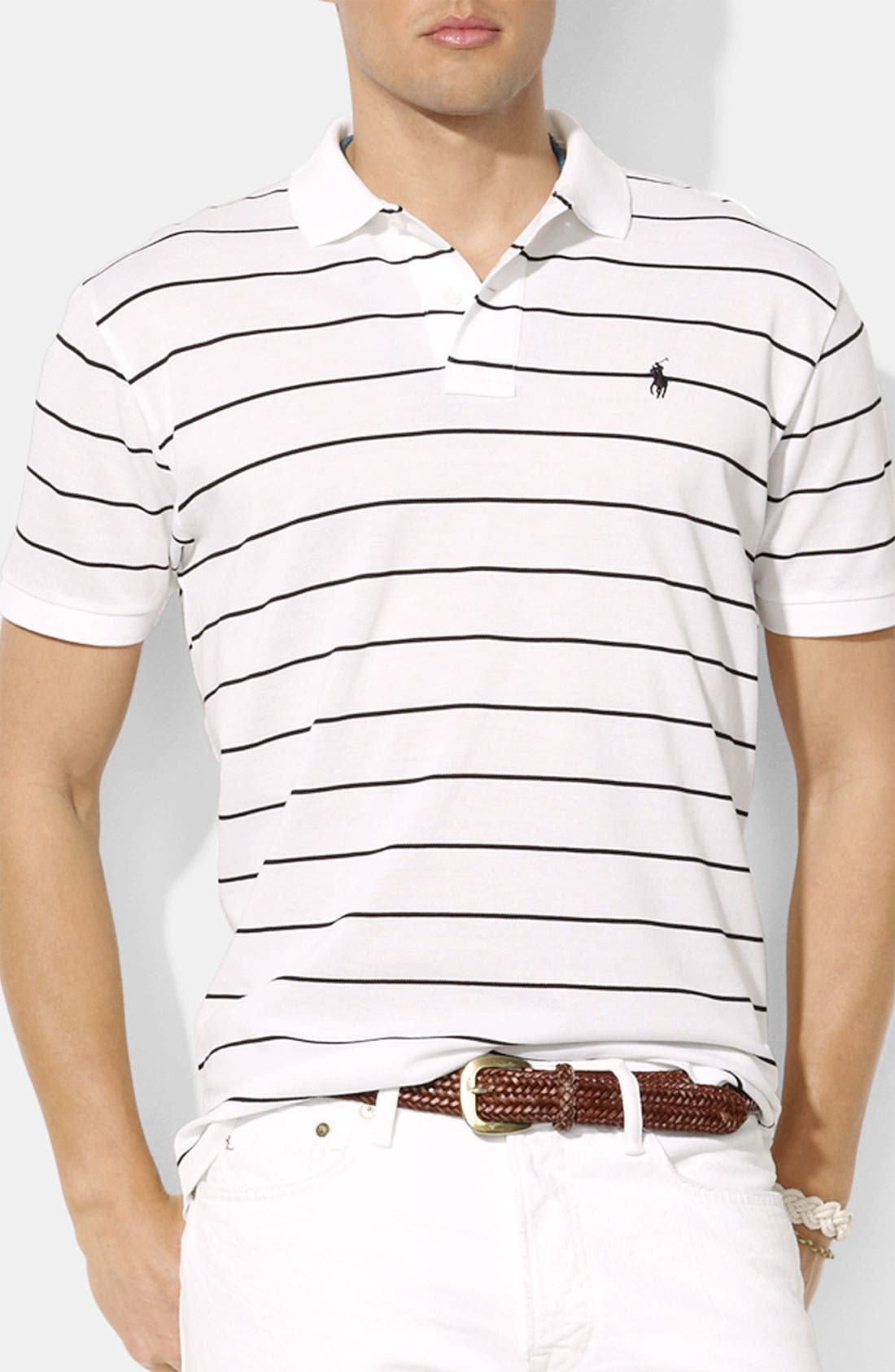Alternate Image 1 Selected - Polo Ralph Lauren Classic Fit Piqué Polo