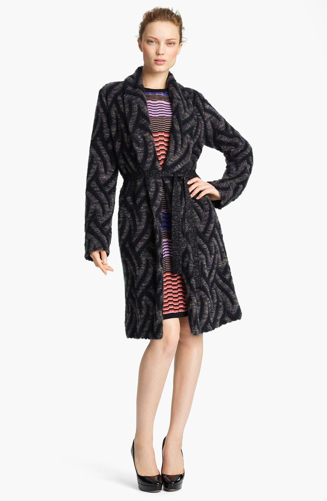 Alternate Image 1 Selected - Missoni Long Knit Coat