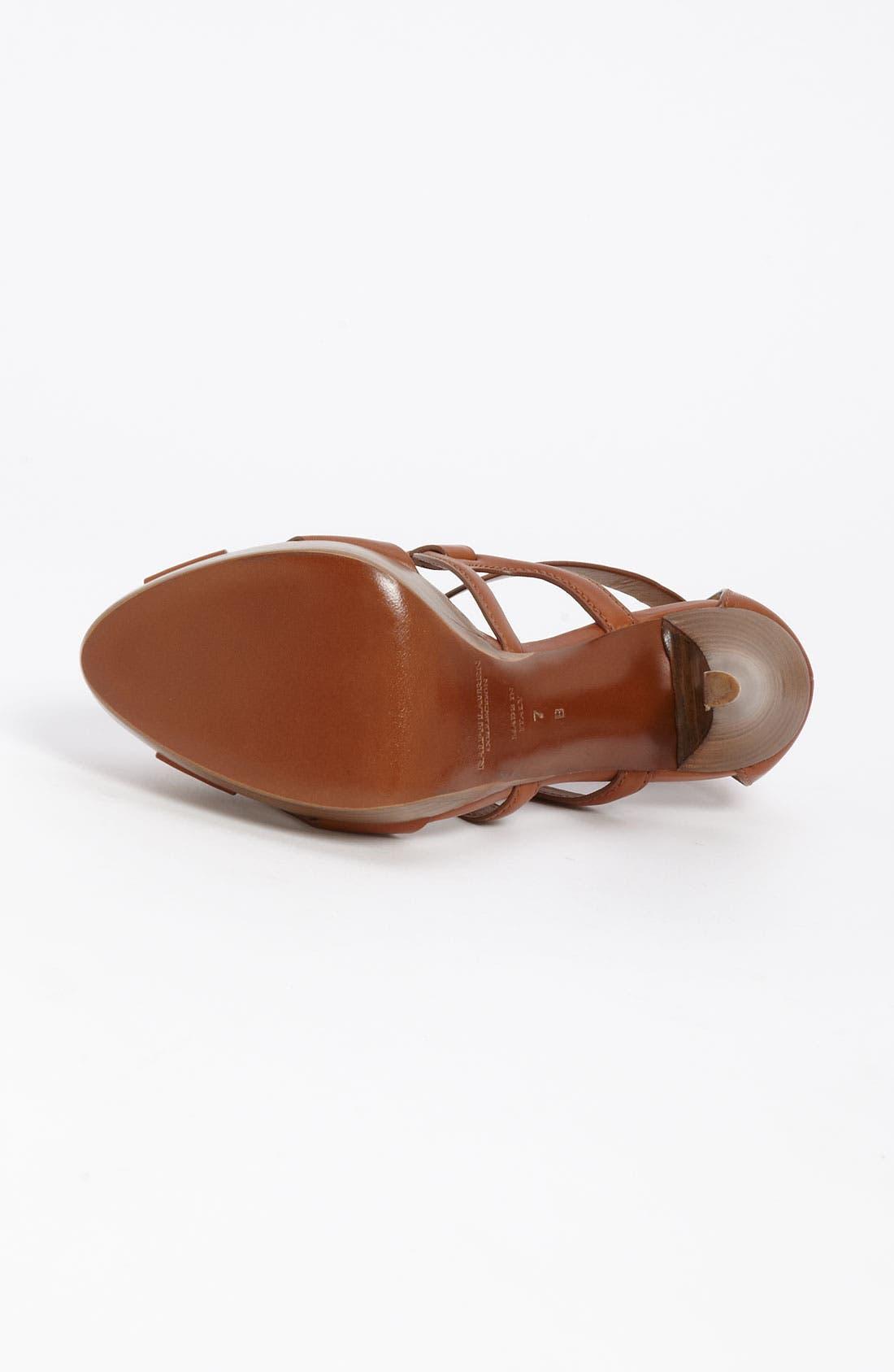 Alternate Image 3  - Ralph Lauren Collection 'Jesita' Sandal