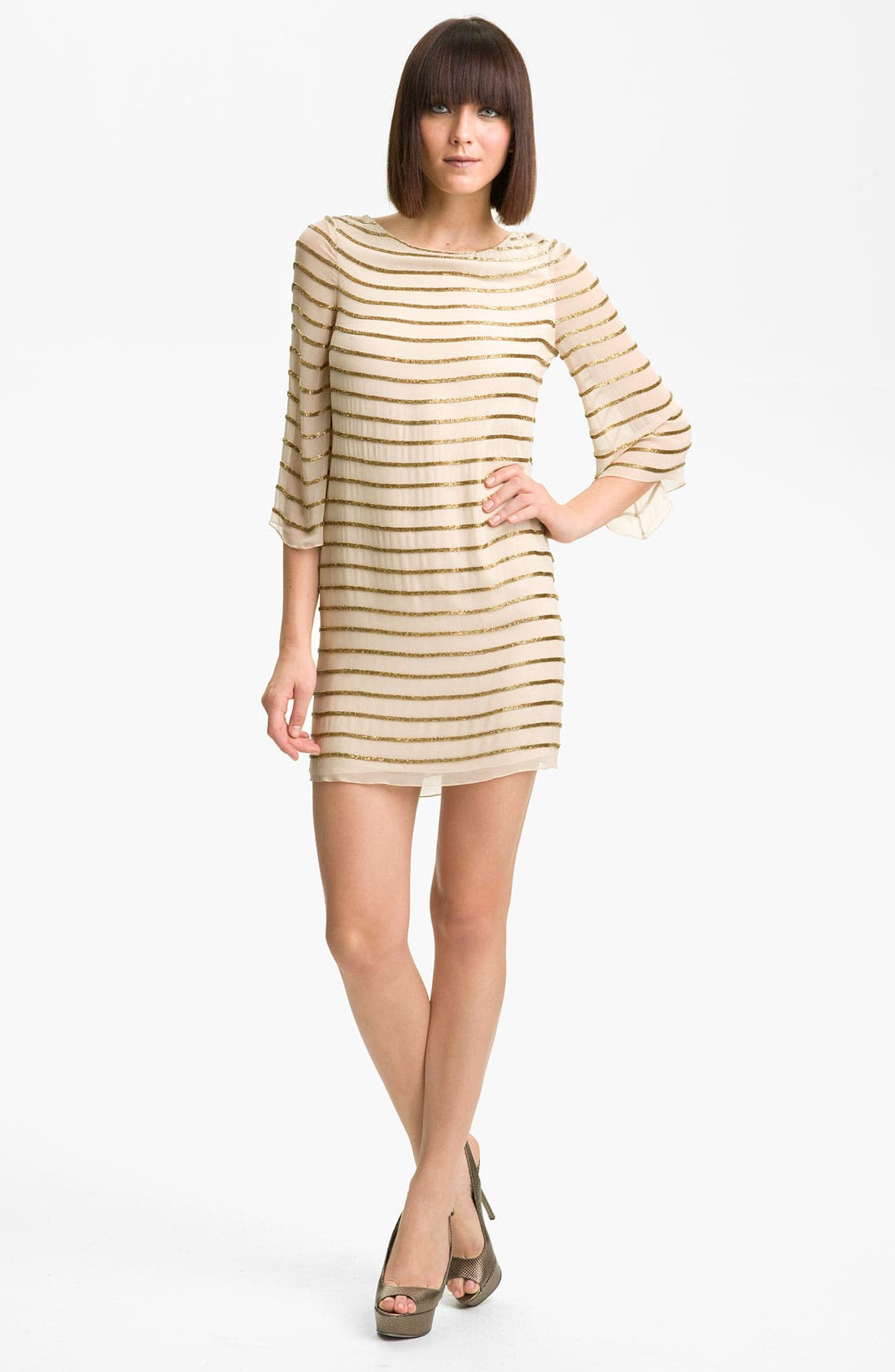 Main Image - Alice + Olivia Silk Tunic Dress