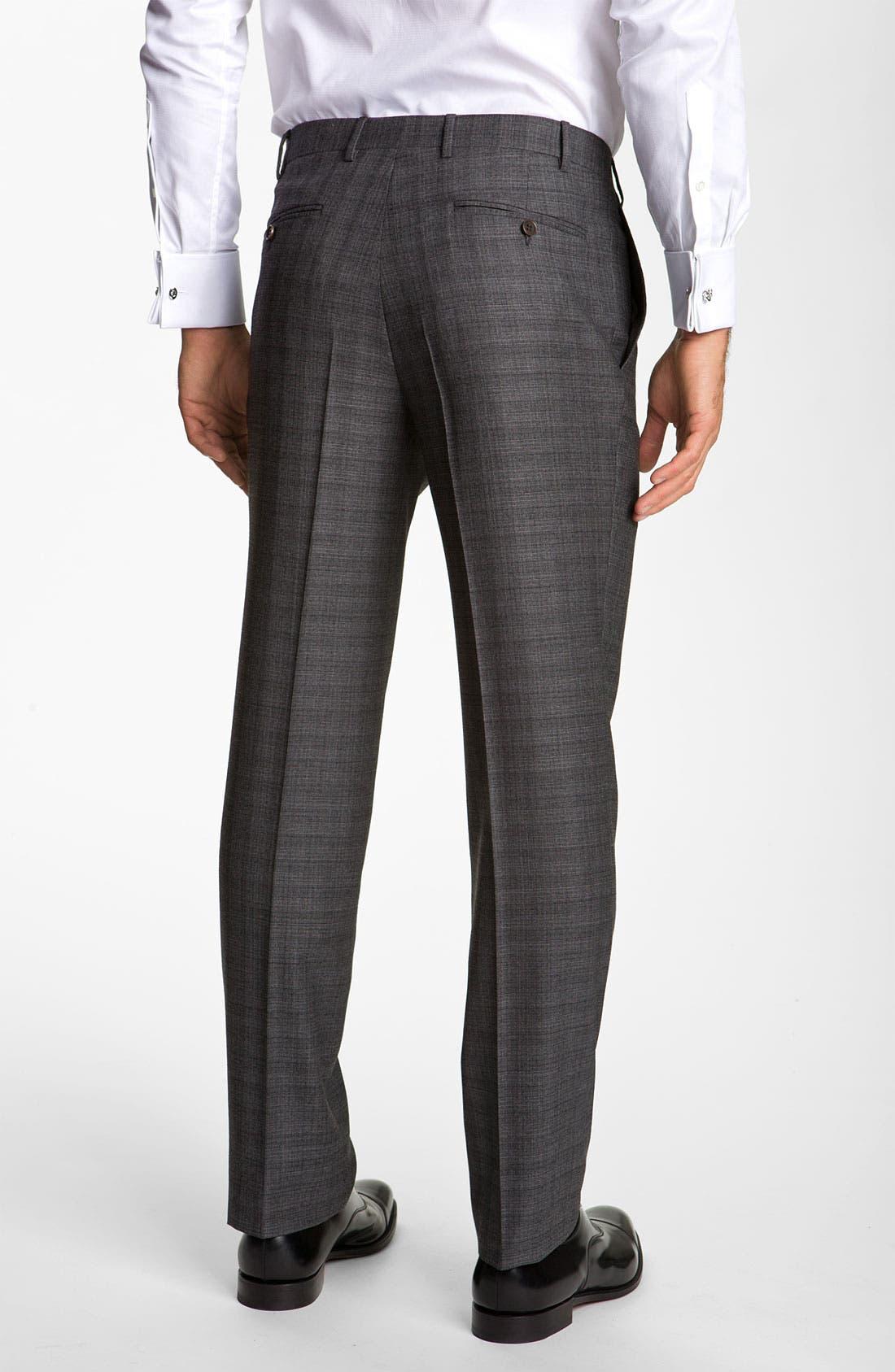 Alternate Image 5  - Canali Stripe Wool Suit