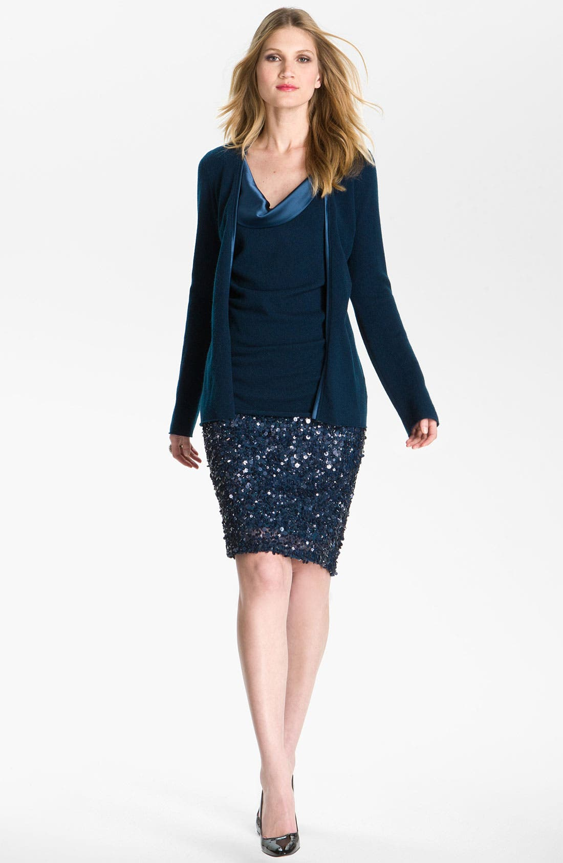 Alternate Image 1 Selected - St. John Collection Sequin Pencil Skirt