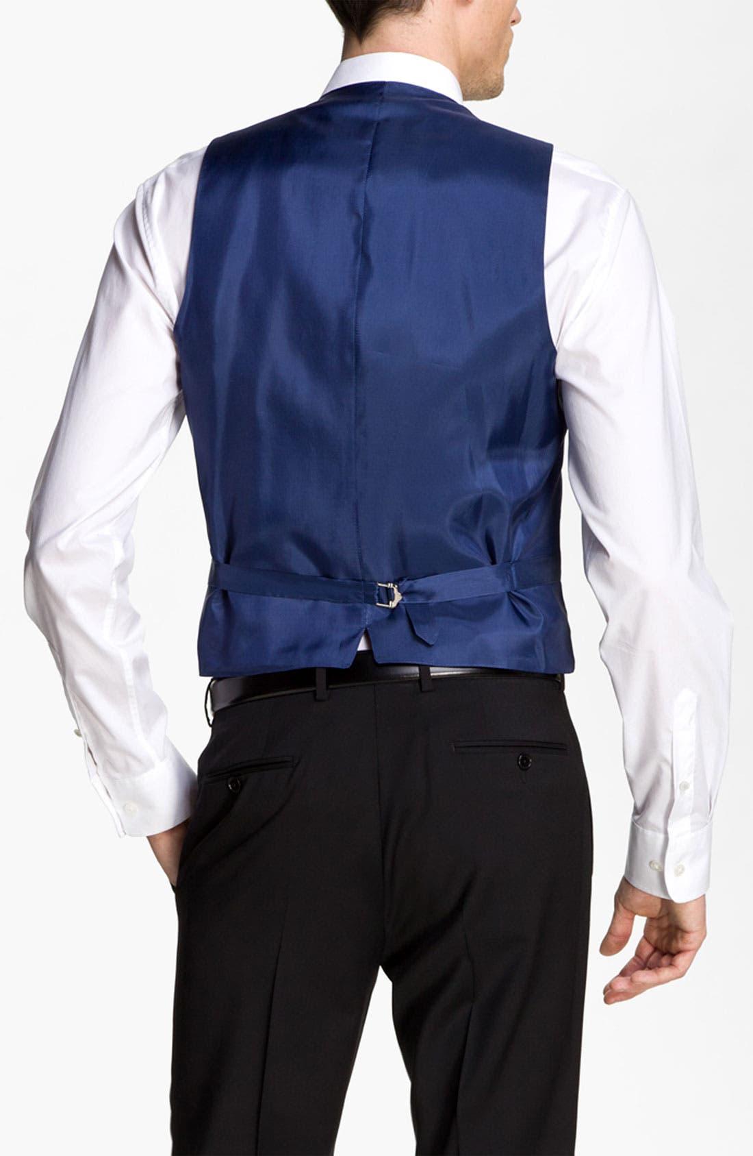 Alternate Image 2  - John Varvatos Star USA Wool Front Vest