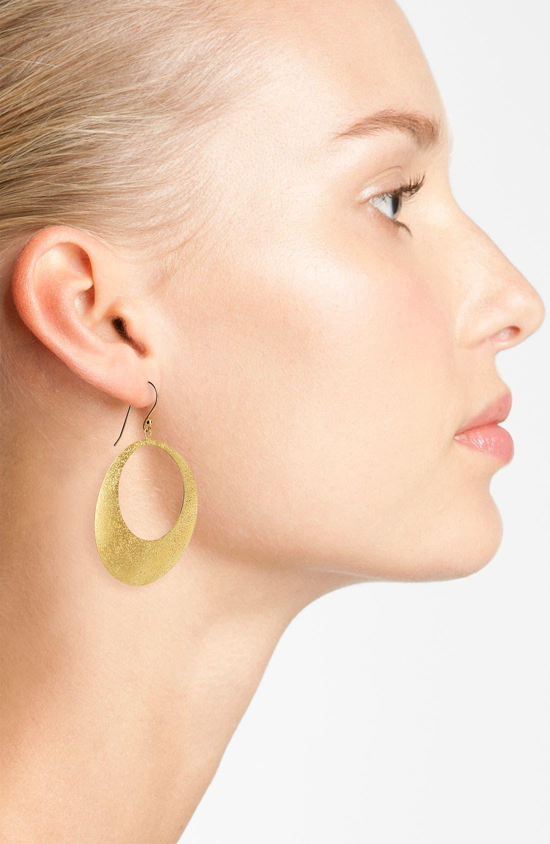 Alternate Image 2  - Argento Vivo 'Galaxy' Open Disc Earrings
