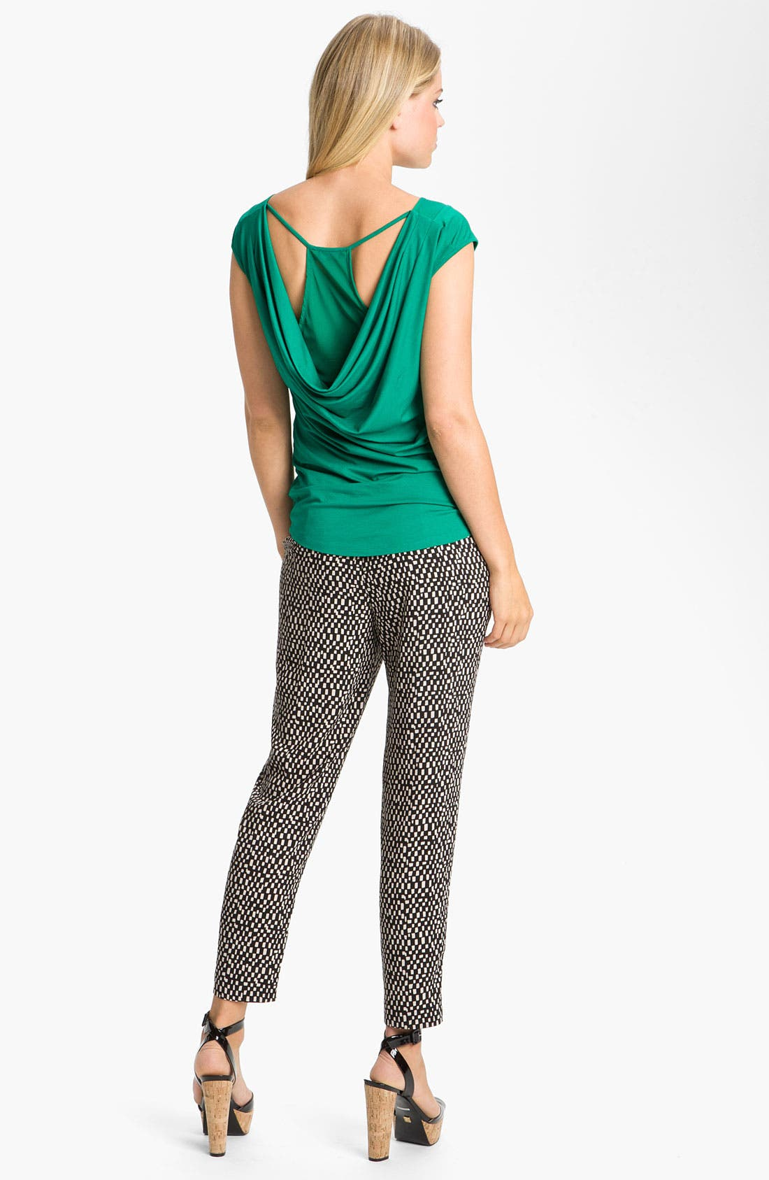 Alternate Image 5  - Vince Camuto 'Spaced Tiles' Pegged Pants