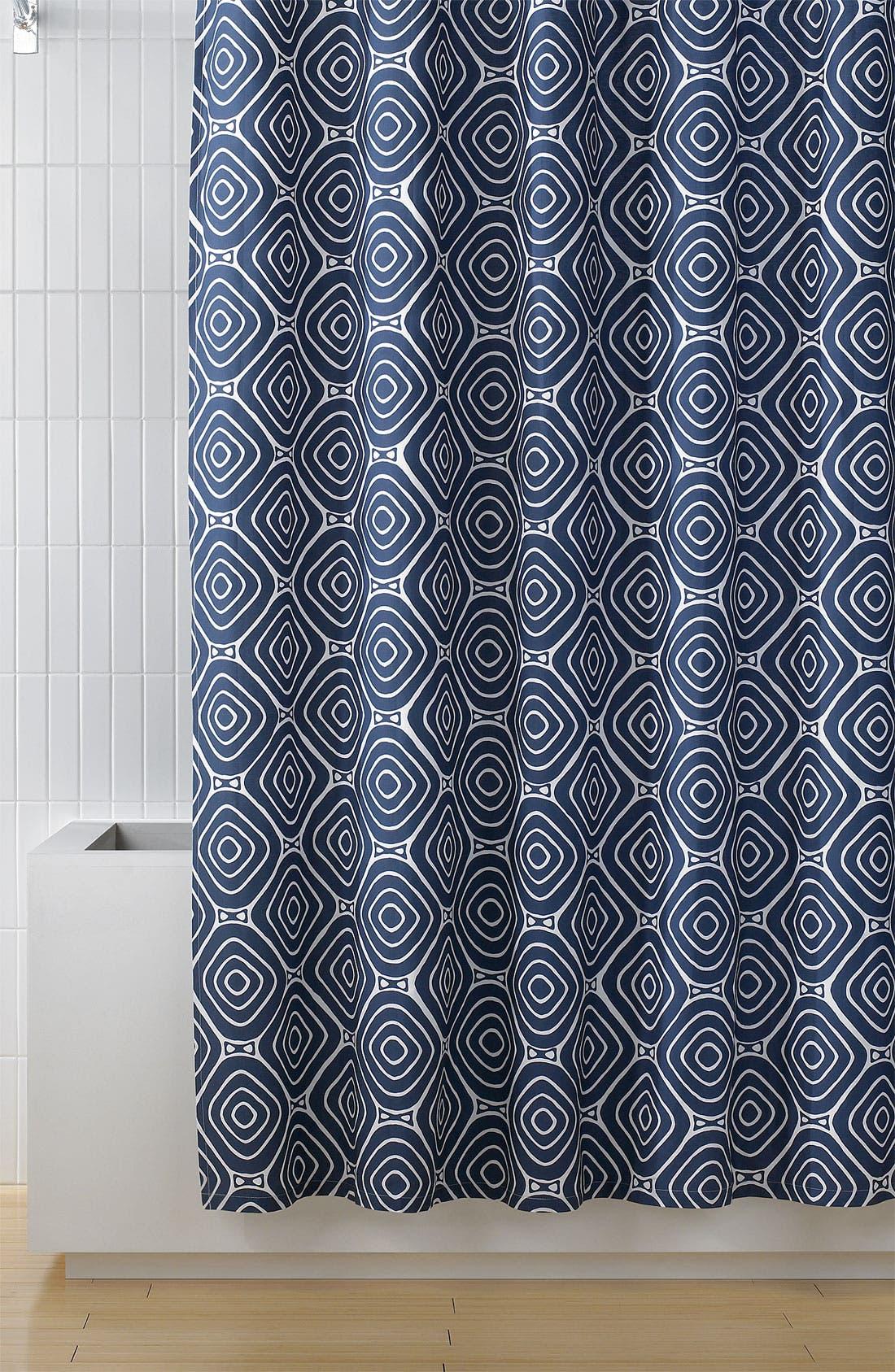 Main Image - Diane von Furstenberg 'Geo Square' Shower Curtain