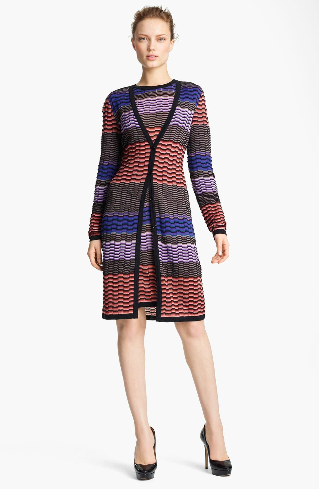 Alternate Image 1 Selected - Missoni Long Knit Cardigan