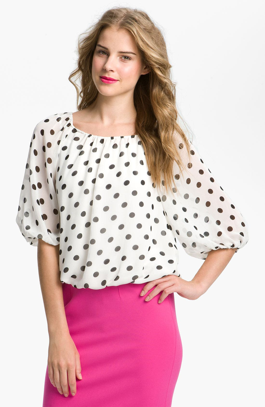 Main Image - Vince Camuto Peasant Blouse