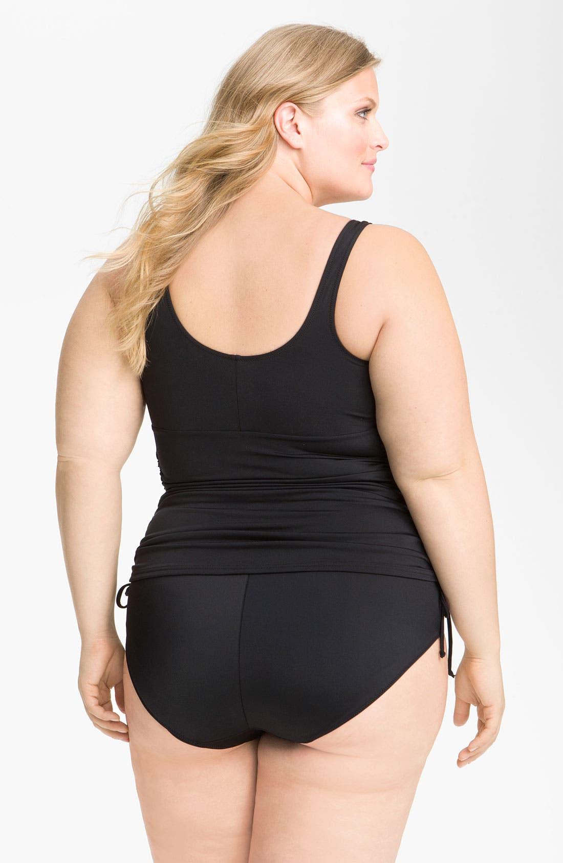 Alternate Image 4  - Elomi 'Isis' Layering Tankini Top (Plus Size)