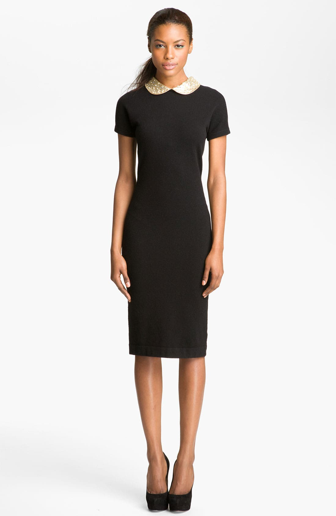 Main Image - MARC BY MARC JACOBS 'Mika' Embellished Collar Dress