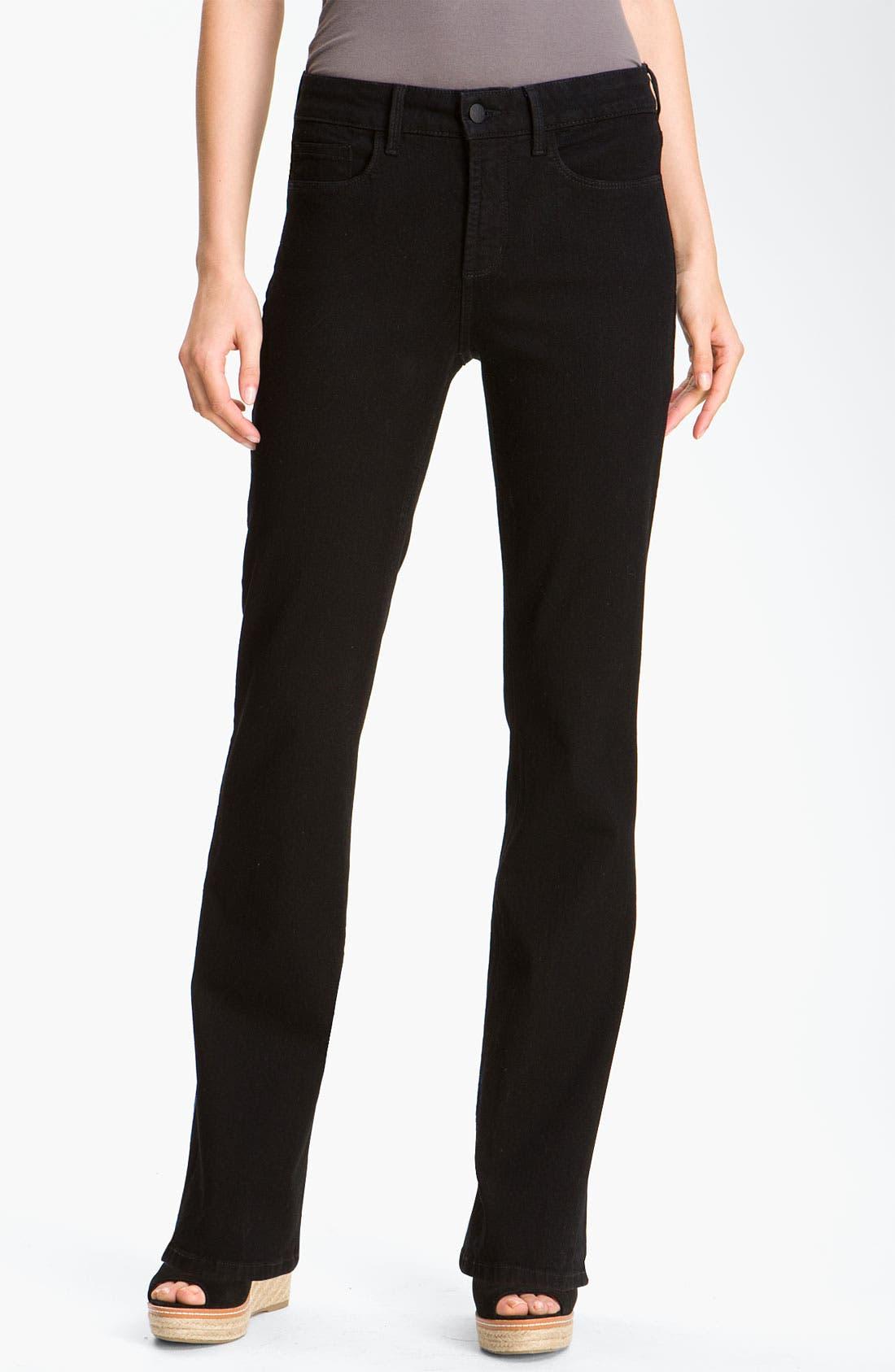 Alternate Image 1 Selected - NYDJ 'Barbara' Embellished Bootcut Jeans (Petite)