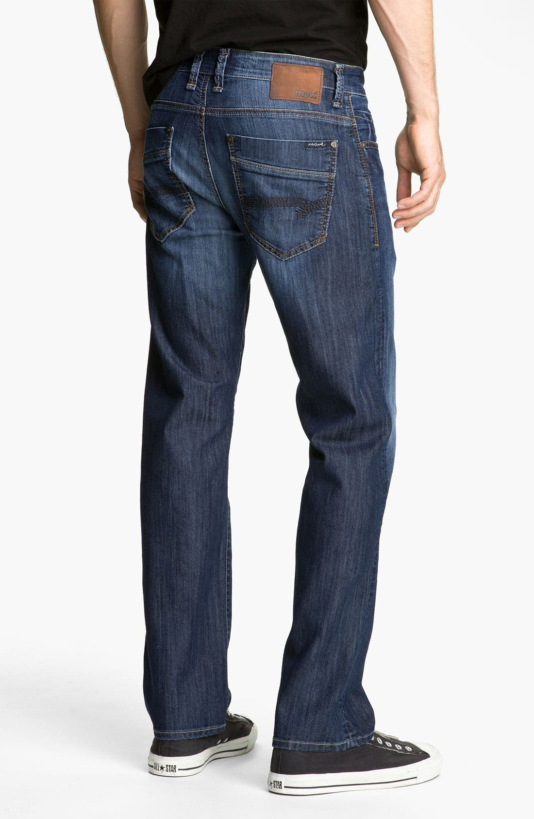 Alternate Image 1 Selected - Mavi Jeans 'Zach' Straight Leg Jeans (Dark Arizona Comfort)