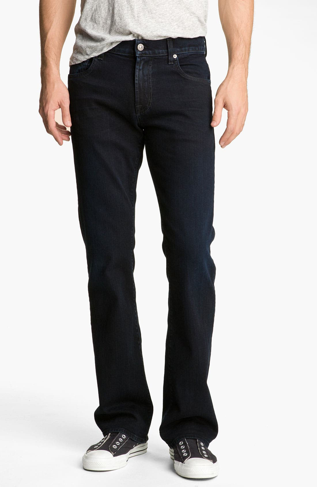 Alternate Image 2  - 7 For All Mankind® 'Brett' Bootcut Jeans (Autumn Eclipse)