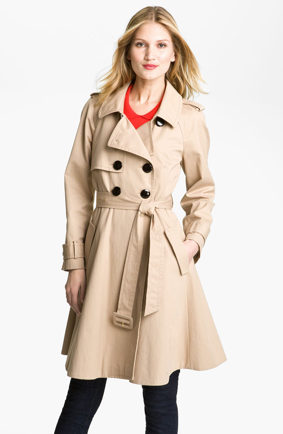 Alternate Image 1 Selected - kate spade new york 'dianne' trench coat