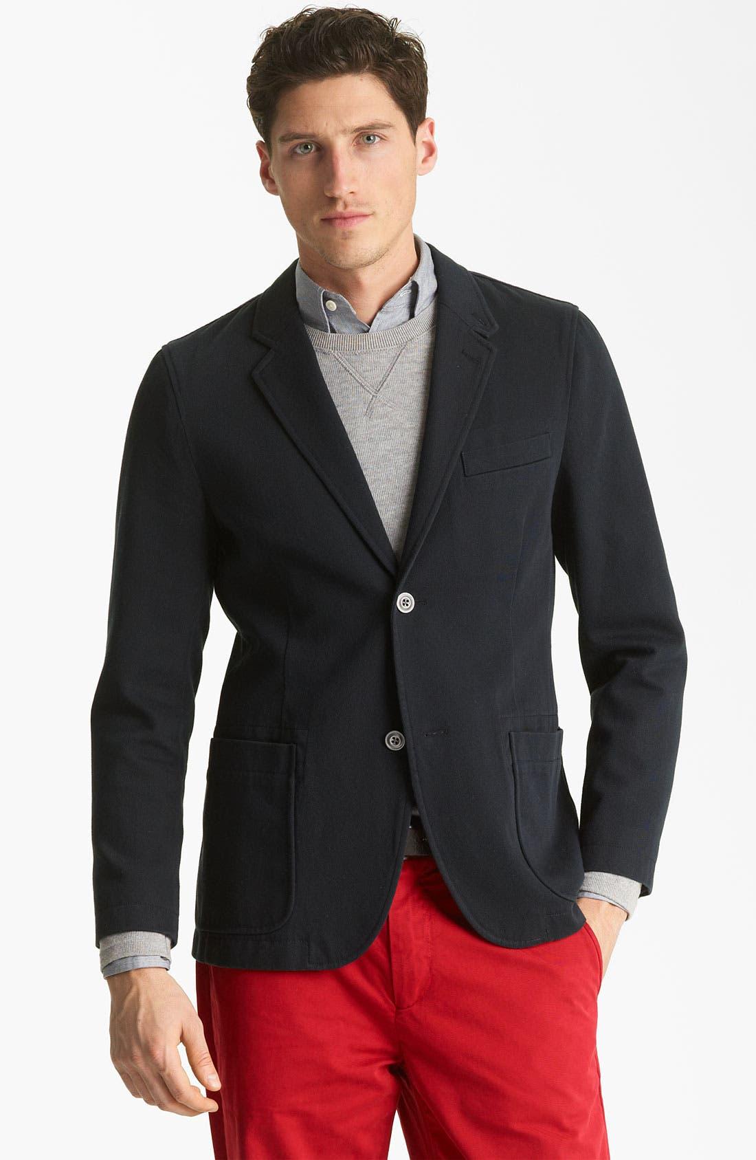 Alternate Image 1 Selected - Jack Spade 'Sanborn' Twill Cotton Blazer