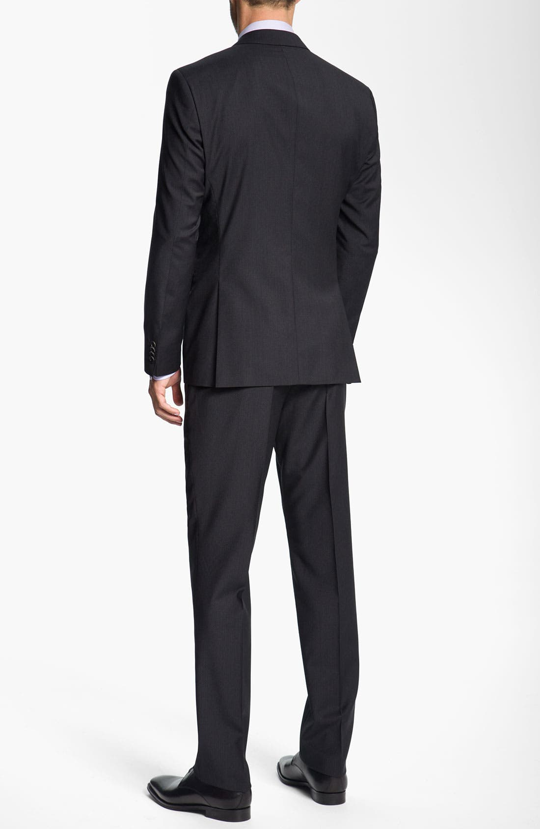 Alternate Image 3  - BOSS Black 'Journey/Sharp' Trim Fit Stripe Suit