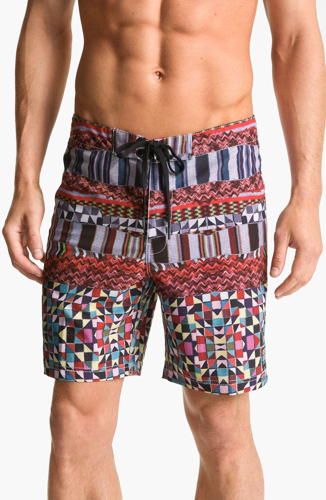 Alternate Image 1 Selected - Insight 'Knitta Mind' Board Shorts