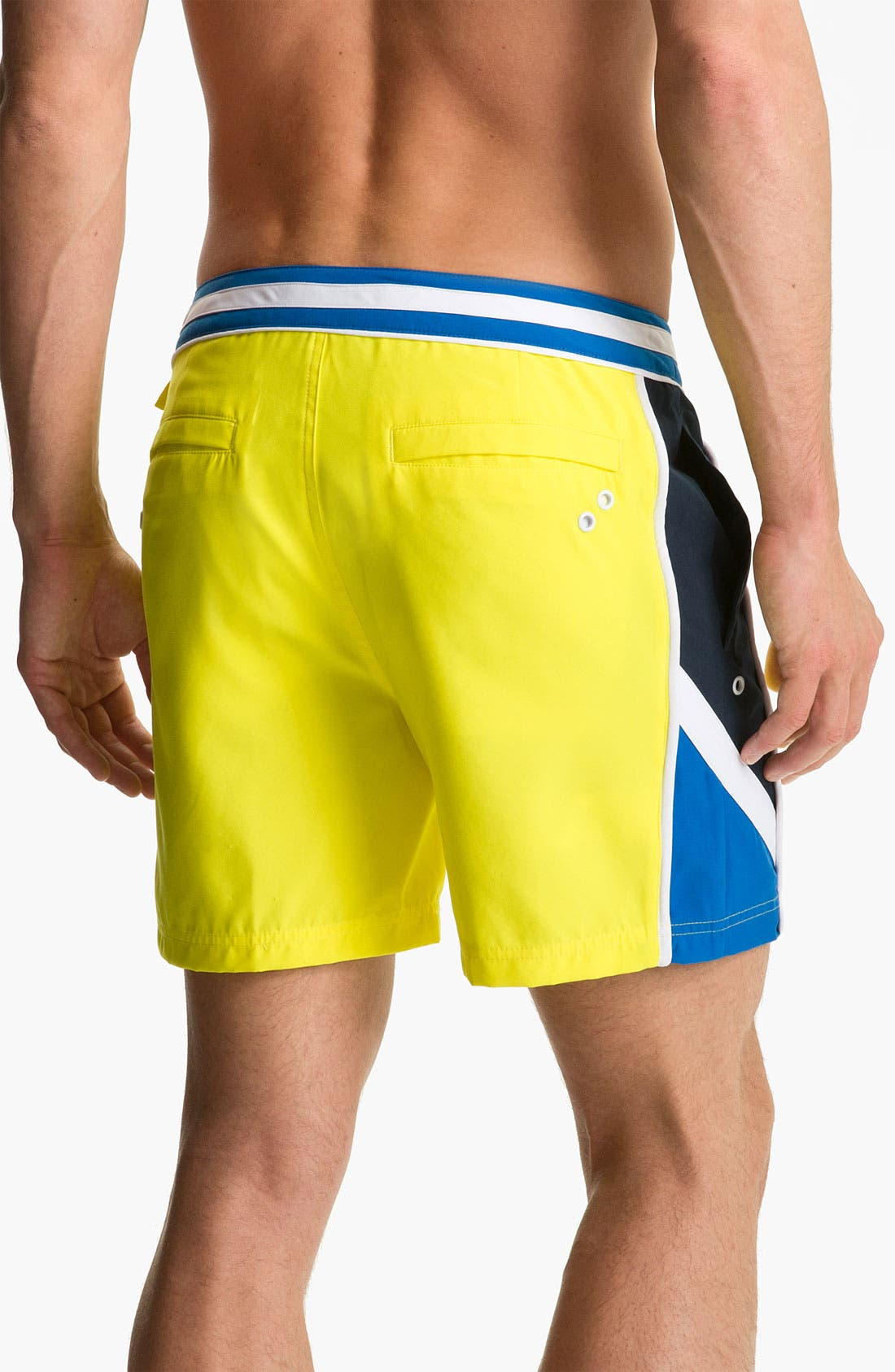 Alternate Image 2  - Original Penguin Colorblock Volley Swim Shorts