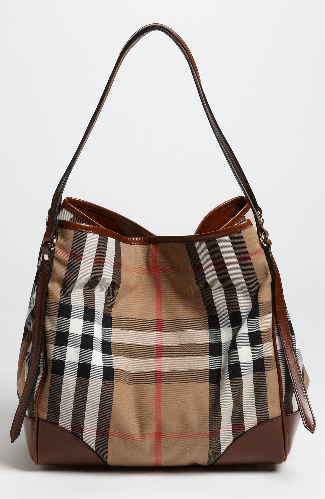 Alternate Image 4  - Burberry 'House Check - Medium' Over Shoulder Tote
