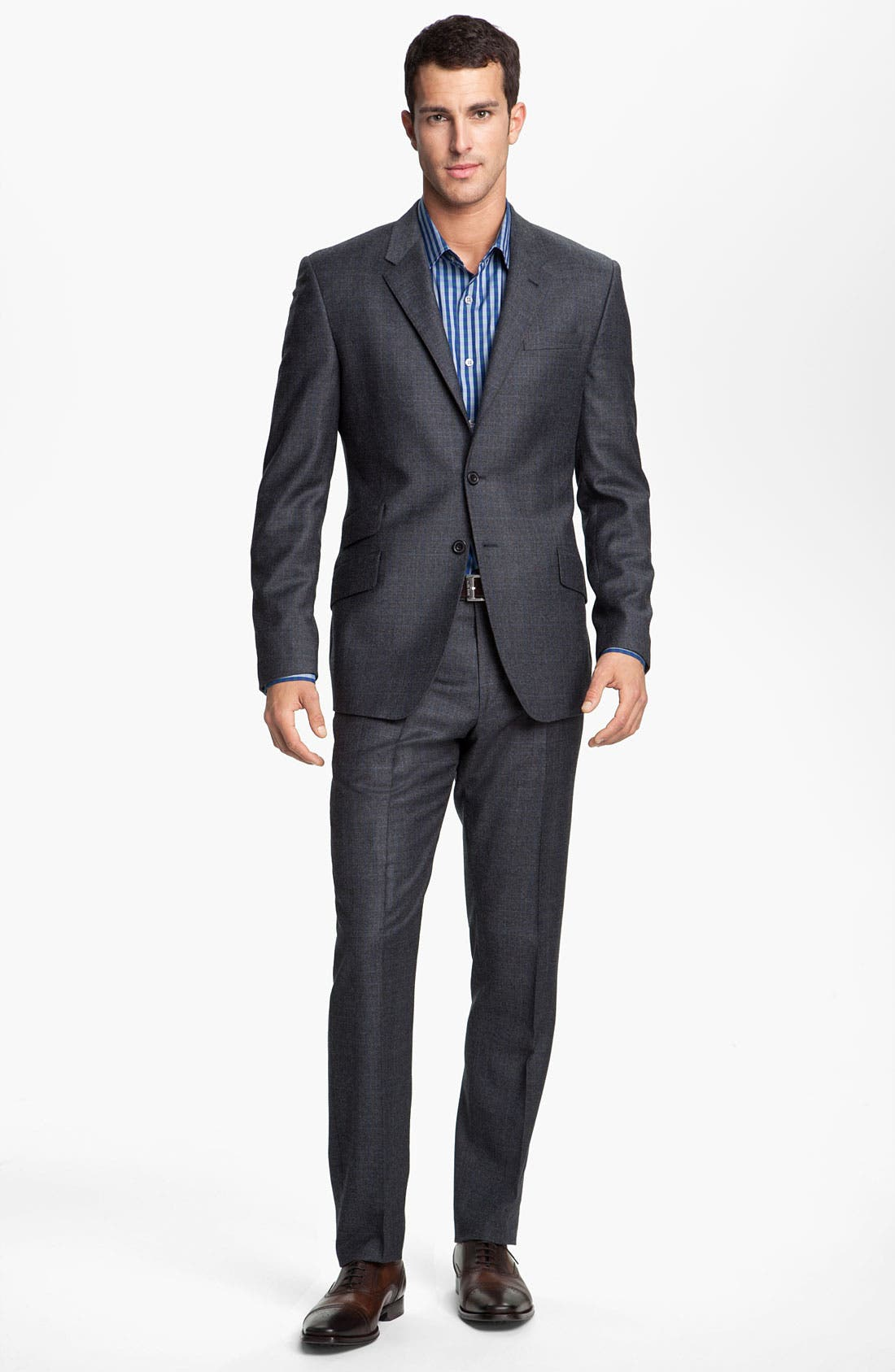 Alternate Image 2  - Paul Smith London Grid Print Wool Suit