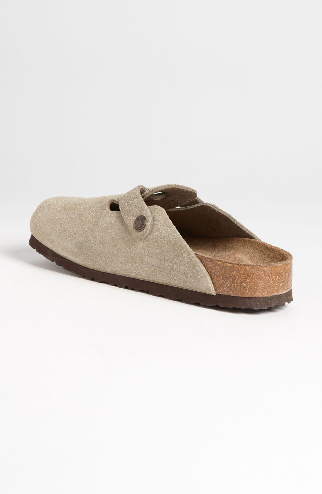 Alternate Image 2  - Birkenstock 'Boston' Soft Footbed Clog (Women)
