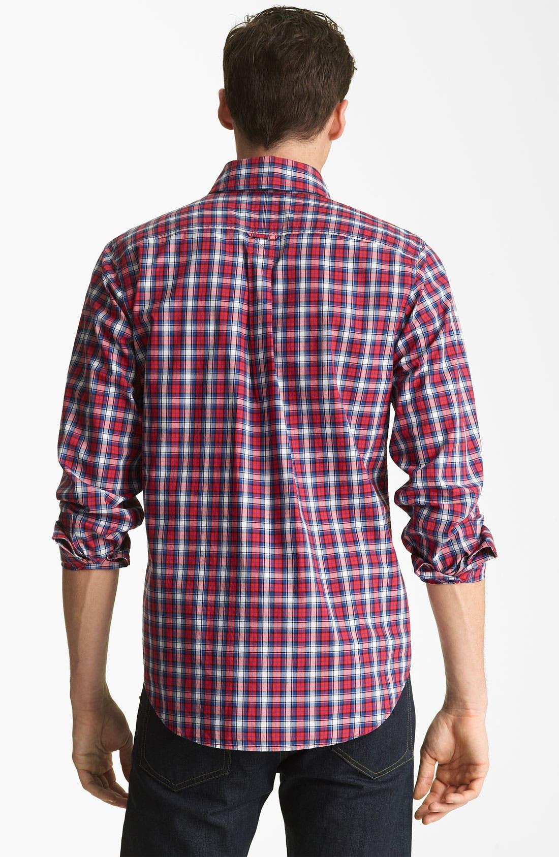 Alternate Image 2  - Jack Spade 'Philips' Plaid Woven Shirt