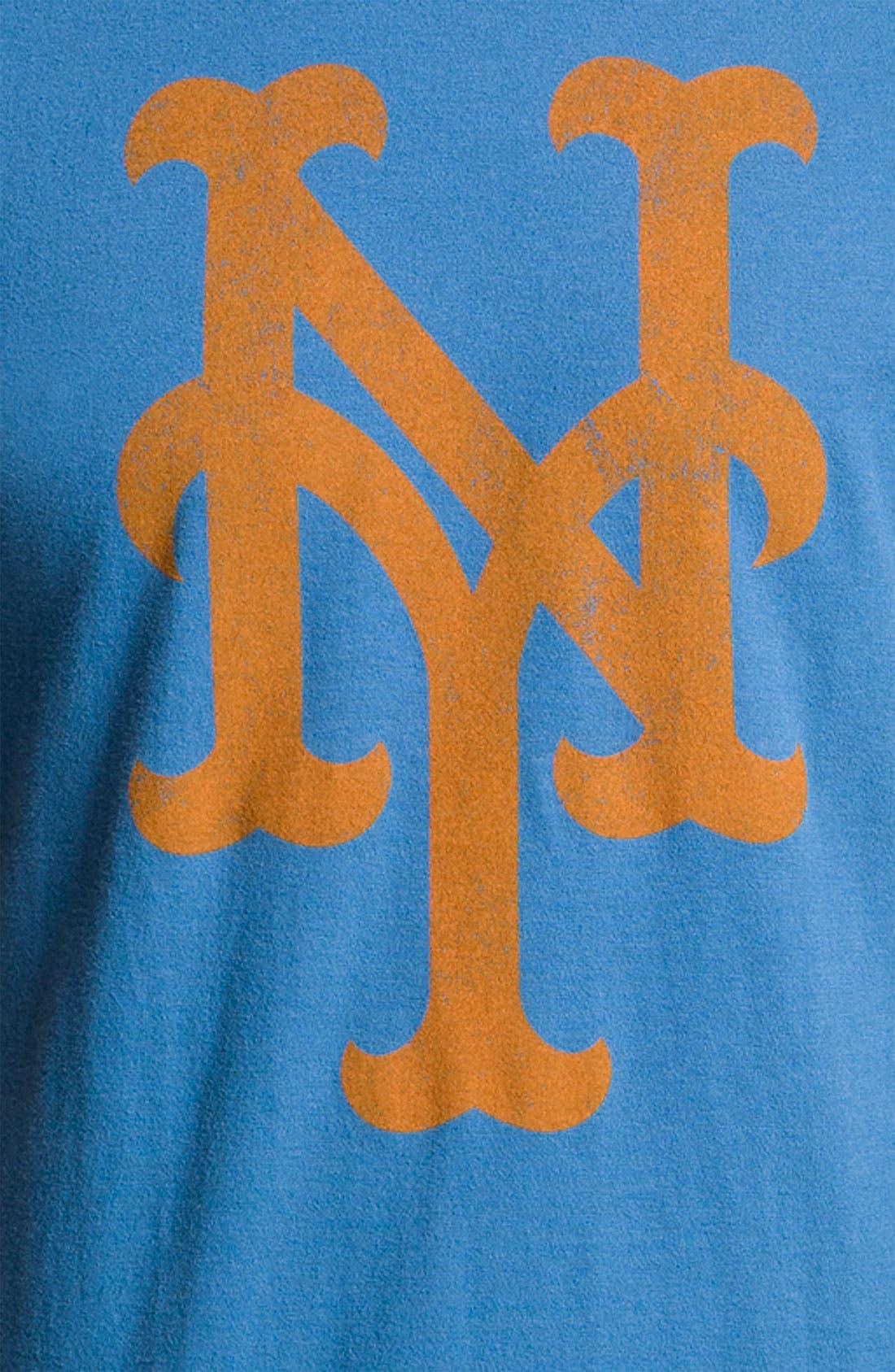 'New York Mets' Baseball T-Shirt,                             Alternate thumbnail 2, color,                             Blue