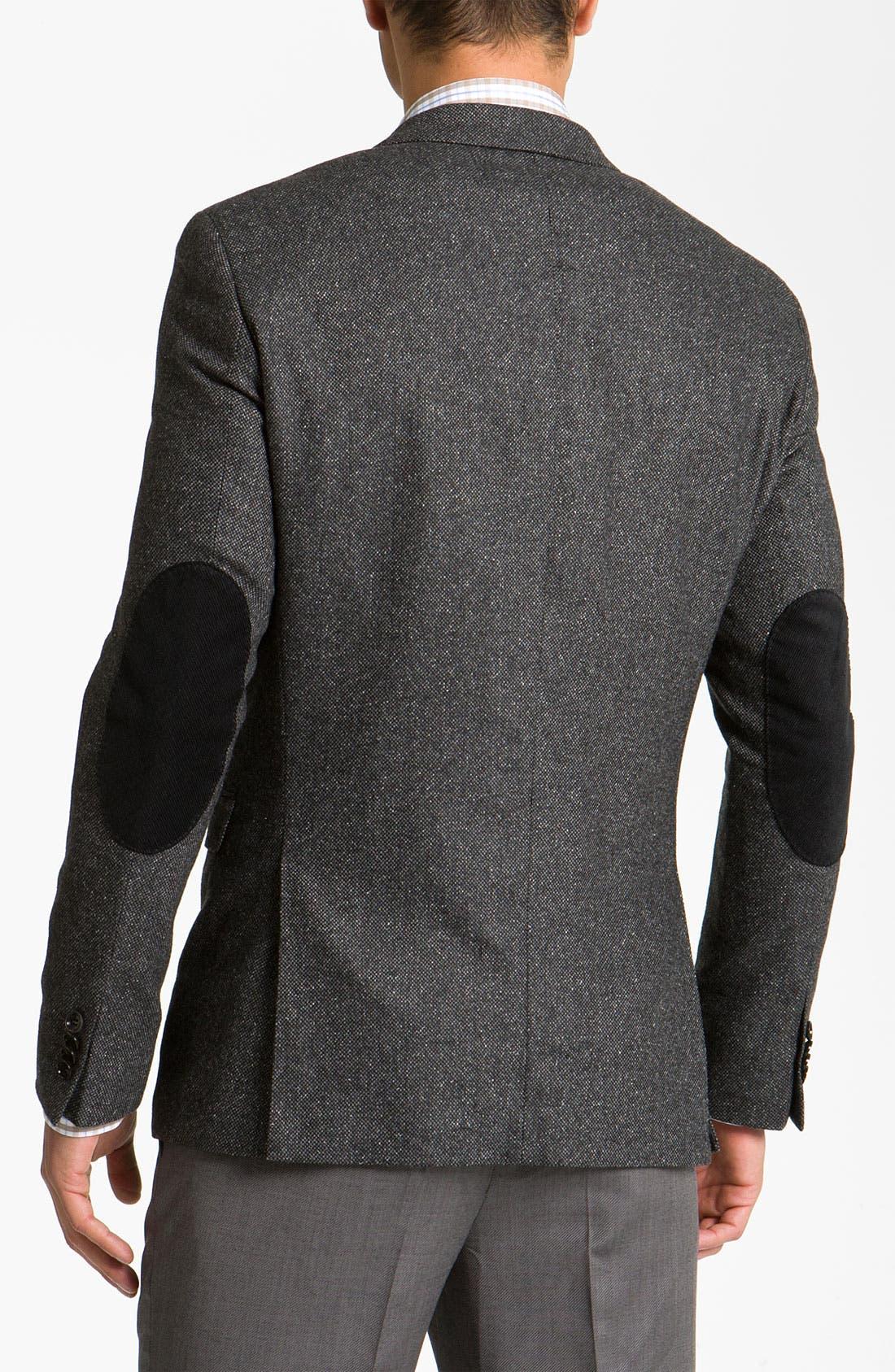 Alternate Image 2  - BOSS Black 'Rhett' Extra Trim Fit Tweed Sportcoat
