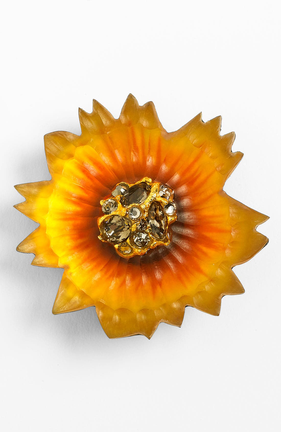 Alternate Image 1 Selected - Alexis Bittar Encrusted Sunflower Pin (Nordstrom Exclusive)