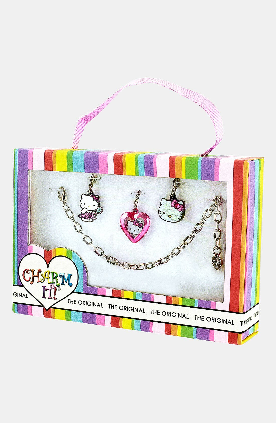 Alternate Image 2  - CHARM IT®! Hello Kitty® Charm Bracelet (Girls)