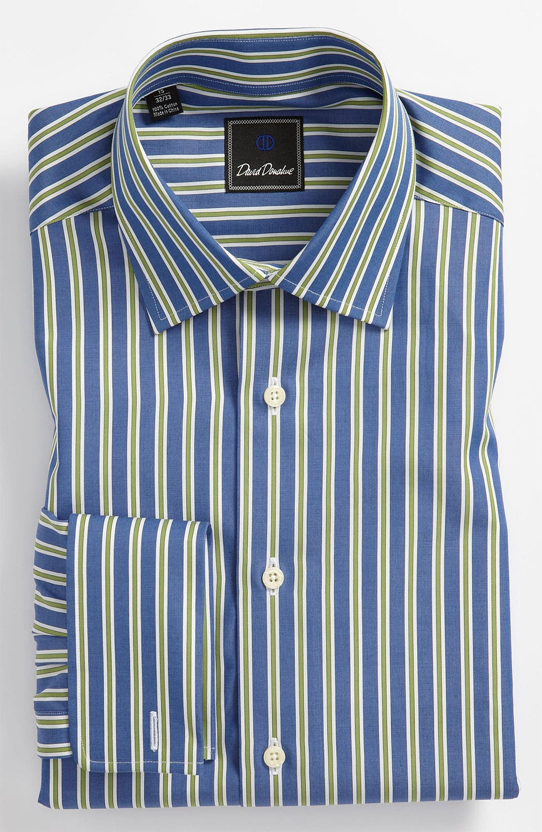 Main Image - David Donahue Regular Fit Dress Shirt